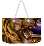 Lion Roaring Carrousel Ride Weekender Tote Bag