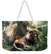 Lion Spirit Weekender Tote Bag