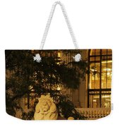 Lion Statue In New York City Weekender Tote Bag