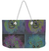 Lion X 4 Color  By Jrr Weekender Tote Bag