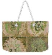 Lion X 4 One Weekender Tote Bag