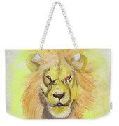 Lion Yellow Weekender Tote Bag