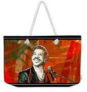 Lionel In Red Weekender Tote Bag