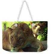 Lioness-00104 Weekender Tote Bag