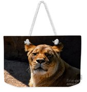 Lioness Hey Are You Looking At Me Weekender Tote Bag