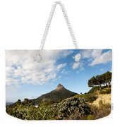 Lion's Head Weekender Tote Bag by Fabrizio Troiani