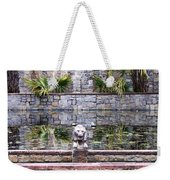 Lions In The Renaissance Court Fountain 2 Weekender Tote Bag