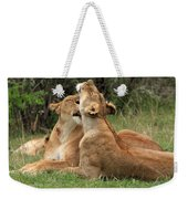 Tenderness In The Wild Weekender Tote Bag