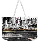 Lip Smack Nyc Weekender Tote Bag