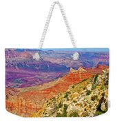 Lipan Point View On East Side Of South Rim Of Grand Canyon-arizona   Weekender Tote Bag