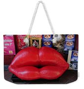 Lips Couch Weekender Tote Bag