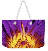 Liqufied Water Lily Weekender Tote Bag