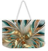 Liquid Flame Weekender Tote Bag