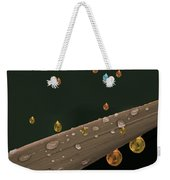 Liquid Gold Weekender Tote Bag
