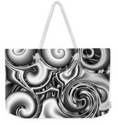 Liquid Metal Weekender Tote Bag