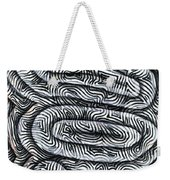 Liquid Waves Weekender Tote Bag