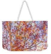 Liquidambar Square Abstract Weekender Tote Bag