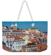 Lisbon Alfama District Weekender Tote Bag