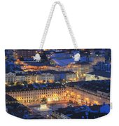 Lisbon At Night Portugal Weekender Tote Bag