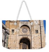 Lisbon Cathedral In Portugal Weekender Tote Bag