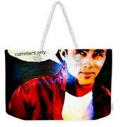 Listen To James Weekender Tote Bag