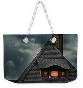 Lit Attic Window Weekender Tote Bag