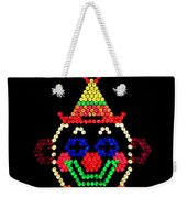 Lite Brite - The Classic Clown Weekender Tote Bag