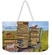 Literary Levels Weekender Tote Bag