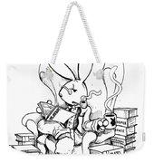 Literary Playboy Weekender Tote Bag