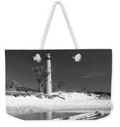 Litle Sable Light Station - Film Scan Weekender Tote Bag