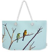 Little Bee-eaters Weekender Tote Bag