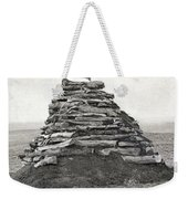 Little Bighorn Monument Weekender Tote Bag by Granger