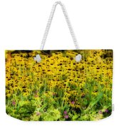 Little Bits Of Yellow Weekender Tote Bag