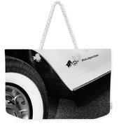 Little Black Corvette Palm Springs Weekender Tote Bag