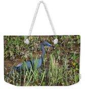 Little Blue Heron 3 Weekender Tote Bag