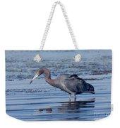 Little Blue Heron Egretta Caerulea Weekender Tote Bag