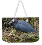 Little Blue Heron Hunting Weekender Tote Bag