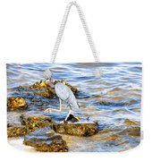 Little Blue Heron Weekender Tote Bag