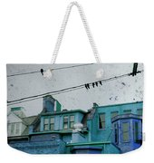 Little Blue Houses Weekender Tote Bag