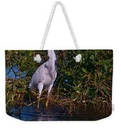 Little Blue Splash Weekender Tote Bag