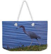 Little Blue Strut Weekender Tote Bag