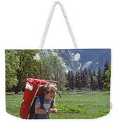 Mp-441-little Boy Big Pack  Weekender Tote Bag