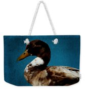 Little Brown Duck Weekender Tote Bag