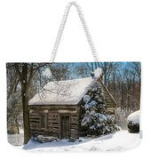 Little Cabin In The Woods Weekender Tote Bag