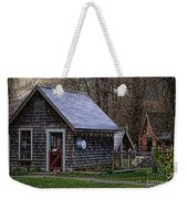 Little Cedar Shake Building Weekender Tote Bag