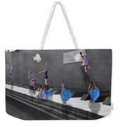 Little Composers I Weekender Tote Bag by Betsy Knapp
