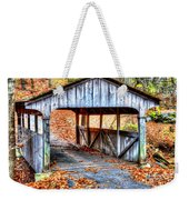 Little Covered Bridge II Weekender Tote Bag