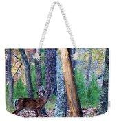 Little Deer In Autumn Weekender Tote Bag