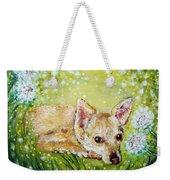 Little Dog Named Fern Weekender Tote Bag