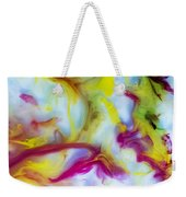 Little Dragon Watercolor Abstract Painting Weekender Tote Bag